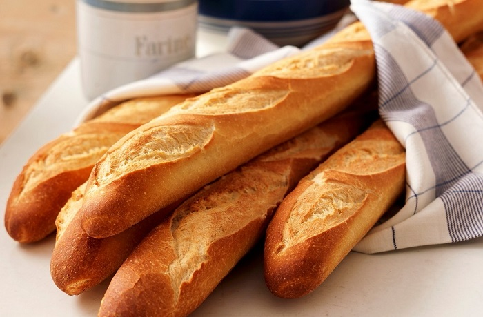Receta de pan baguette