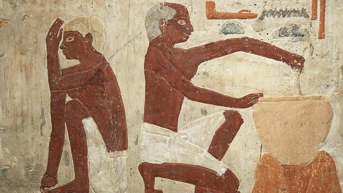 Elaboración de pan en el antiguo Egipto