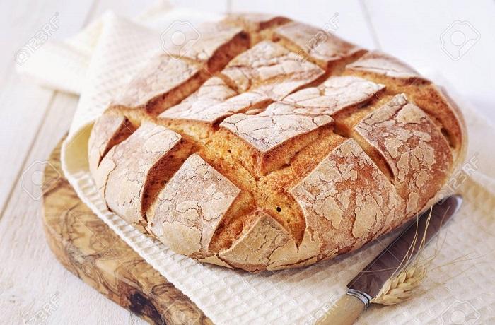 Receta de pan de campo francés (Pain de Campagne)