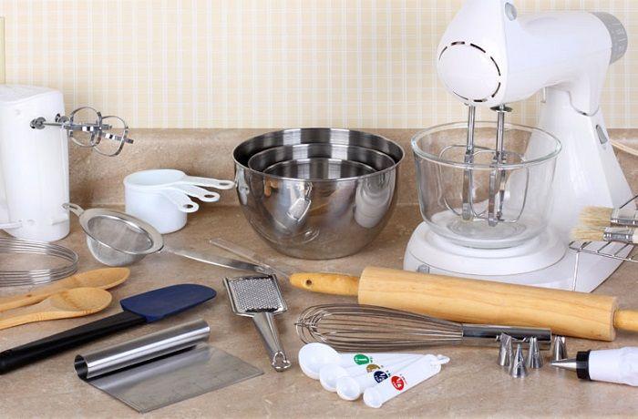 Utensilios y herramientas para elaborar pan