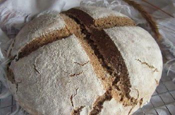 Receta de pan alemán de centeno (landbrot)