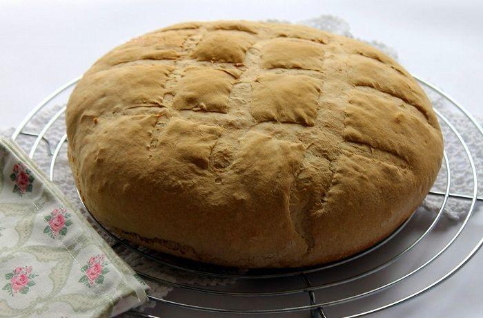 Receta de pan casero italiano