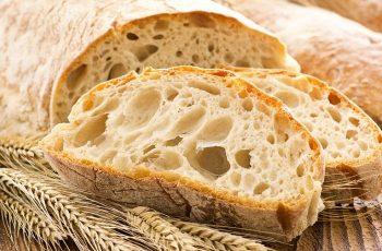 Receta de pan chapata italiano (ciabatta)