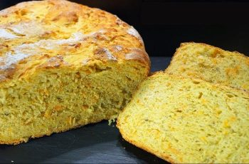 Receta de pan de calabaza
