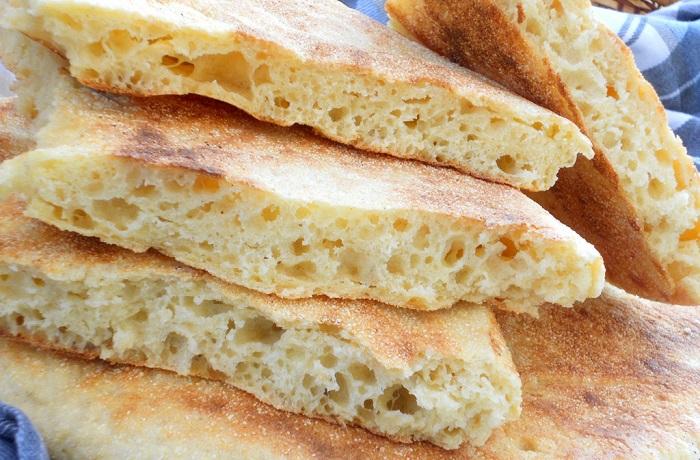 Receta de pan ácimo