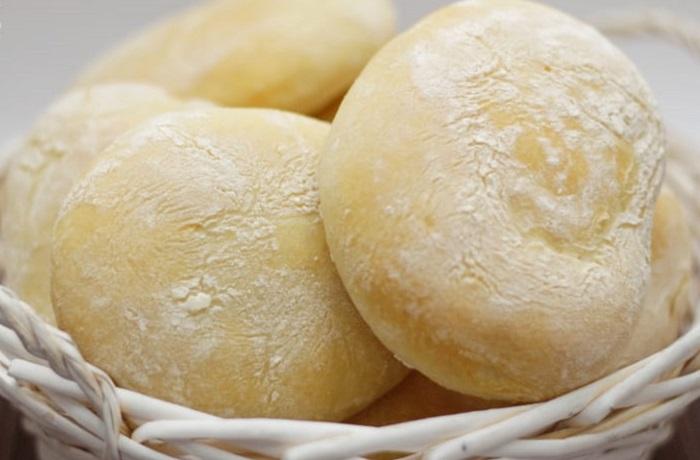 Receta de pan de mollete