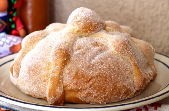 Receta de pan de muerto mexicano