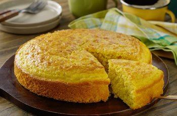 Receta de pan de elote mexicano