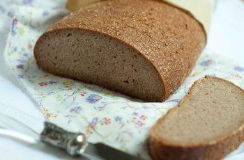 Receta de pan agrio de centeno